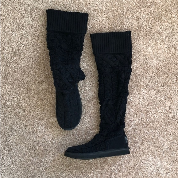 12f646d7f29 Rare black ugg Mercari sweater boot